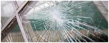 Sutton Coldfield Smashed Glass